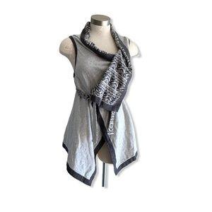 Ivivva Vest Wrap with Attitude Belt Reversible